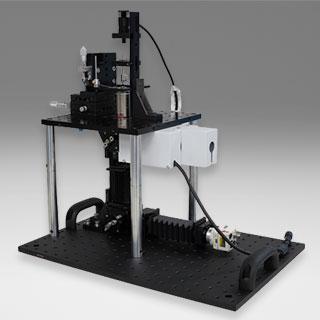 光ピンセットMini2 / 赤外レーザ誘起遺伝子発現操作法(IR-LEGO)に使用可能な局所レーザ加熱システム(コアユニット顕微鏡用)