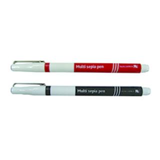 マルチセピアペン(極細用オペークペン)